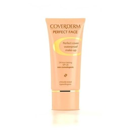 Coverderm Perfect Face Spf 20 No.4, Αδιάβροχο Make-up 30ml