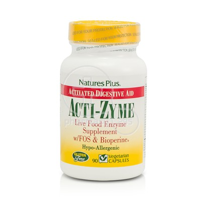 NATURE'S PLUS - Acti-Zyme - 90caps