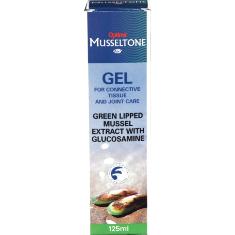 Green Lipped Mussel Extract with Glucosamine 125ml