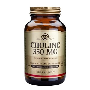 SOLGAR Choline 350mg 100vegetable capsules