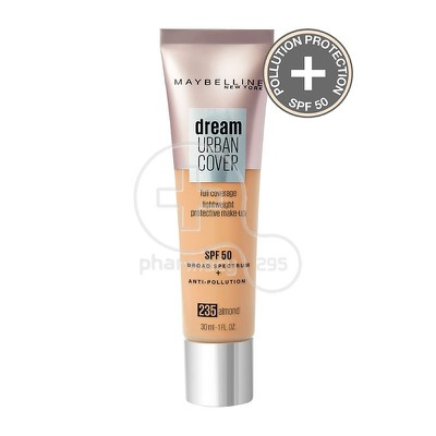 MAYBELLINE - DREAM URBAN COVER Corrective Make-Up SPF50 No235 Almond - 30ml