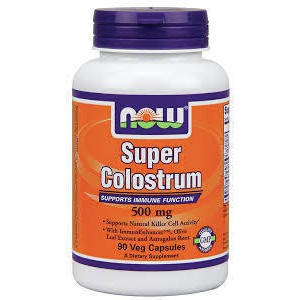 Now foods super colostrum 500mg