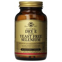 SOLGAR VITAMIN E WITH YEAST FREE SELENIUM 100VEG. CAPS
