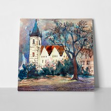 Mystical czech old church 247284367 a