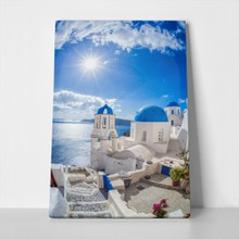 Oia village on santorini island greece 370703684 a