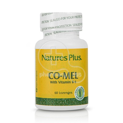 NATURE'S PLUS - CO-MEL With Vitamin B-6 - 60Lozenges