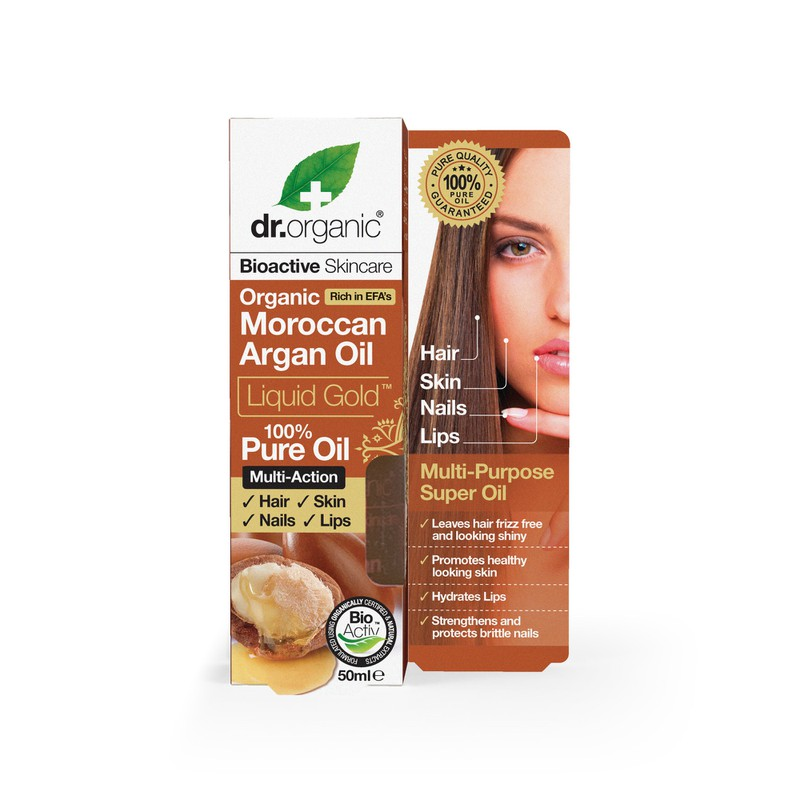 Organic Moroccan Argan Oil Liquid Gold
