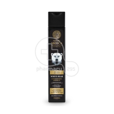 NATURA SIBERICA - MEN Super Refreshing Shower Gel White Bear - 250ml