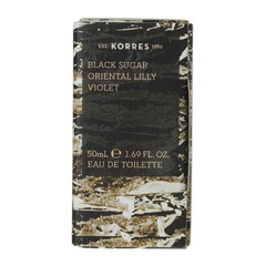 Korres Γυναικείο Άρωμα Black Sugar Oriental Lily Violet 50ml
