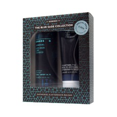 Korres PROMO PACK Blue Sage Collection Lime Fir Wood Showergel 250ml & Γαλάκτωμα για μετά το Ξύρισμα 125ml.