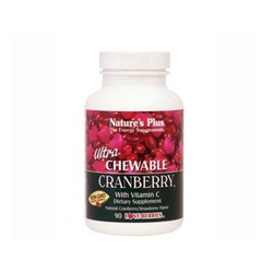 Nature's Plus Ultra Chewable Cranberry 90tabs