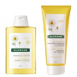 Klorane blond highlights shampoo conditioner