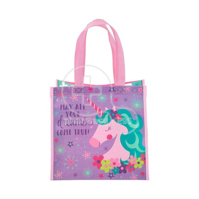 STEPHEN JOSEPH - Recycled Gift Bag (Unicorn)