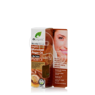 DR. ORGANIC - MOROCCAN ARGAN OIL Facial Oil - 30ml