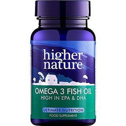 Higher Nature Omega-3 Fish Oil 180 caps