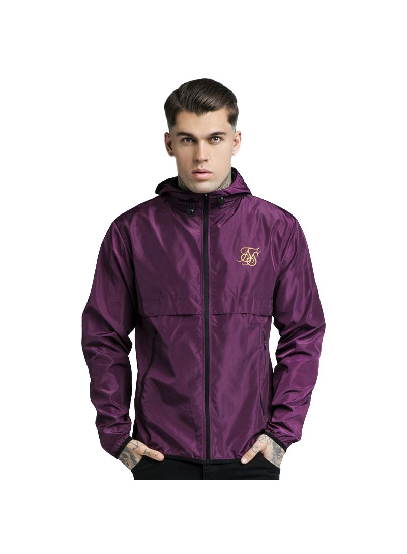 SikSilk Windrunner – Burgundy