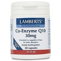 LAMBERTS CO-ENZYME Q10 30MG 60CAPS