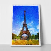 Oil painting eiffel tower 269214290 a
