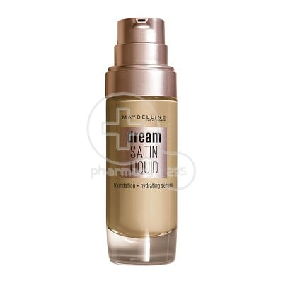 MAYBELLINE - DREAM SATIN Liquid Foundation No21 (Nude Beige) - 30ml