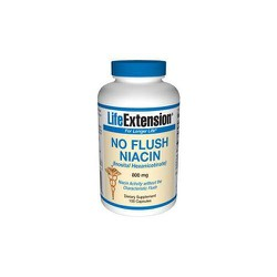 LifeExtension No Flush Niacin 800mg 100caps