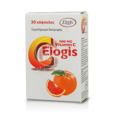 ELOGIS - Vitamin C 1000mg - 30caps