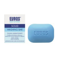 EUBOS SOLID WASHING BAR BLUE 125GR