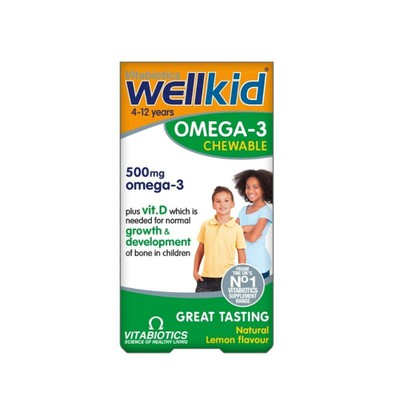 Vitabiotics - Wellkid Omega-3 - 60chew.caps