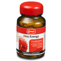 LANES MULTIVITAMIN XTRA ENERGY 30TABL