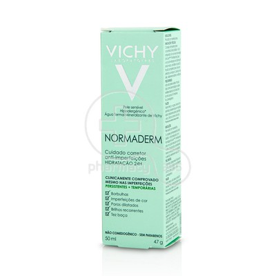 VICHY - NORMADERM Soin Embellisseur Anti-Imperfections Hydration 24h - 50ml