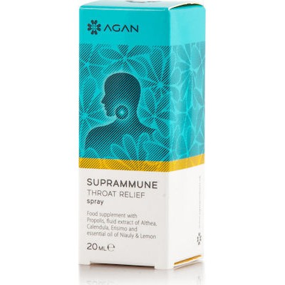 AGAN SUPRAMMUNE THROAT RELIEF SPRAY 20ml