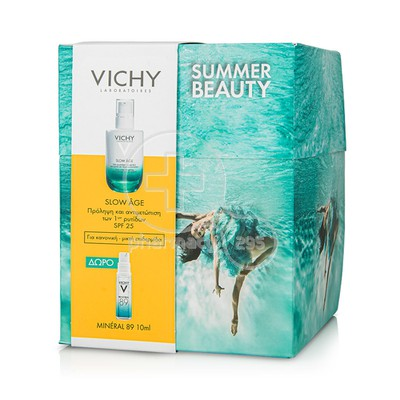 VICHY - PROMO PACK Slow Age SPF25 - 50ml ΜΕ ΔΩΡΟ Mineral 89 - 10ml
