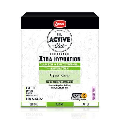 LANES - THE ACTIVE CLUB Xtra Hydration - 2x10tabs