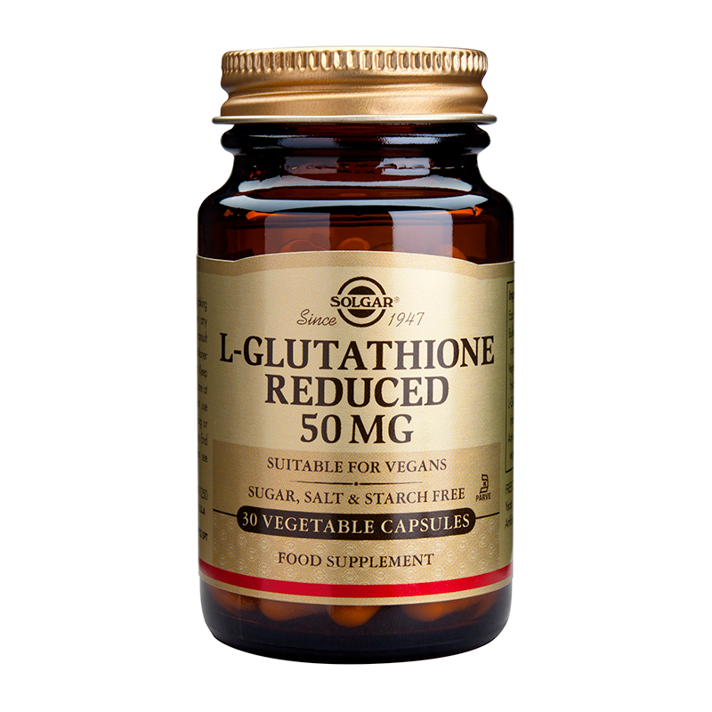 L-GLUTATHIONE (REDUCED) 50mg veg.caps