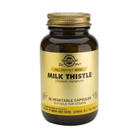 SOLGAR MILK THISTLE 100MG 50VEG CAPS