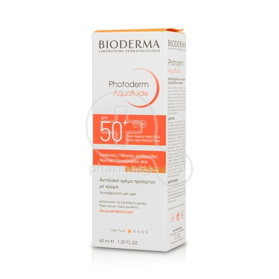 BIODERMA - PHOTODERM MAX Aquafluide Teinte Doree SPF50+ - 40ml