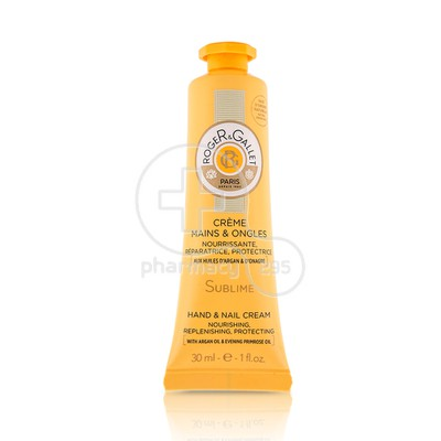 ROGER & GALLET - SUBLIME Creme Mains & Ongles - 30ml