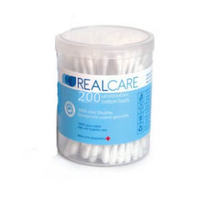 REALCARE COTTON BUDS 200TEM