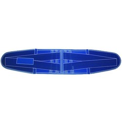 "Reinforced Lumbar Belt ""Criss Cross"" Neoprene"
