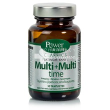 Power Health Platinum MULTI + MULTI TIME - Πολυβιταμίνη, 30 tabs