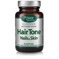 POWER HEALTH CLASSICS PLATINUM HAIR TONE NAILS&SKIN 30CAPS
