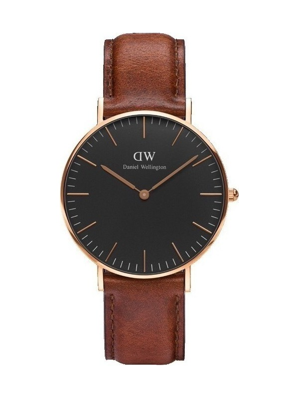 St Mawes Classic Black / Rose Gold