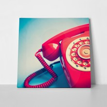 Retro red phone 2 a