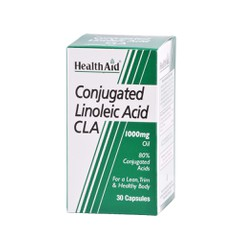 Health Aid Conjugated Linoleic Acid (CLA) 1000mg 30 κάψουλες