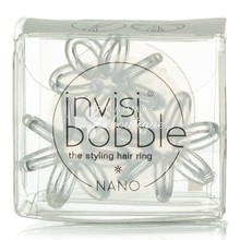 Invisibobble Nano - Crystal Clear, 3τμχ
