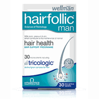 VITABIOTICS WELLMAN HAIRFOLIC 60TABL
