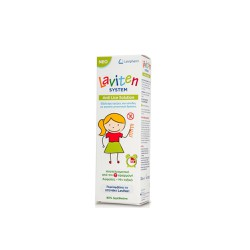 Lavipharm Laviten System Anti Lice Solution Αντιφθειρική Λοσιόν 125ml