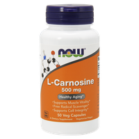 NOW SPORTS L-CARNOSINE 500 MG, 50 VEG. CAPS