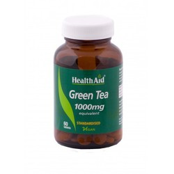 Health Aid Green Tea 60 tabl.