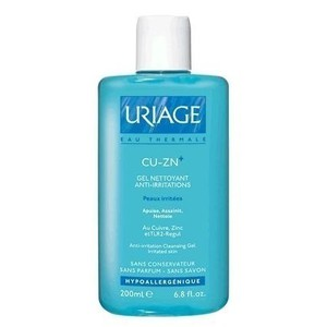 Uriage cu zn gel nettoyant anti irritations 200ml