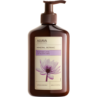 Ahava - Mineral Botanic Body Lotion – Lotus Flower & Chestnut - 400ml